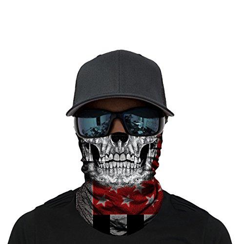 (OUYZY Neck Gaiter, Headwear, Face Sun Mask, Magic Scarf, Bandana, Balaclava, Headband for Cycling, Fishing, Hunting, Motorcycling, Running, Skateboarding, Moisture Wicking UV)