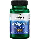 Swanson Apigenin Prostate Health Supplements Nerve Health 50 mg 90 Capsules