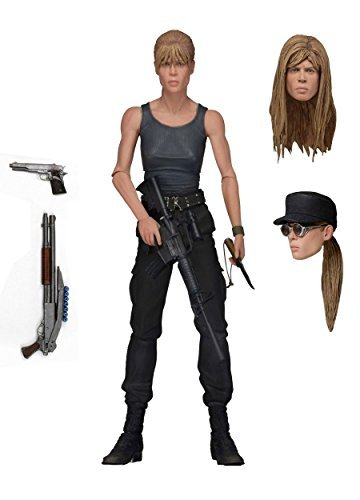 Terminator 2 / Ultimate Linda Hamilton Sarah Connor 7 inches Action Figure Deluxe by NECA by Neka