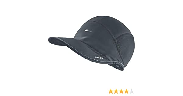 a9f240c9e4b Amazon.com  NIKE Women s Daybreak All Weather Running Cap Black  Sports    Outdoors