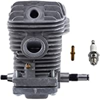 HIPA 42.5mm Cylinder Assembly with Spark Plug Replacement...