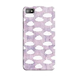 Cover It Up - Cloud Purple Sky BlackBerry Z10 Hard Case