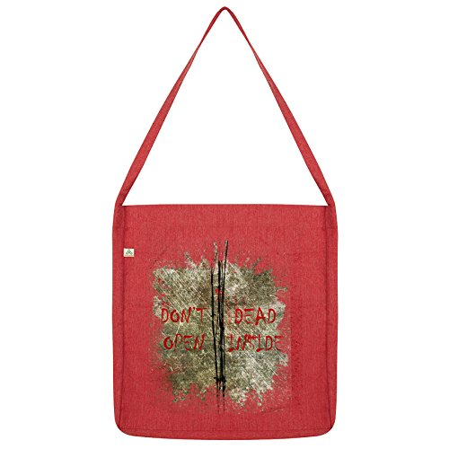 Twisted Twisted Dead Open Tote Envy Red Don't Bag Inside Envy ZqvdBwgv