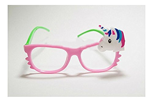 Toycamp 12/pk Flashing Lensless Assorted Unicorn Glasses LED SunGlasses Rave Party Wear by Toycamp (Image #6)