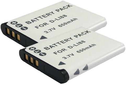 【堀出】 2個セット Panasonic VW-VBX070 / D-Li88 互換バッテリー