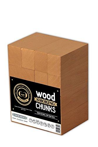 Grillgold BBQ 16 Wood Smoking Chunks - Räucherholz Buche (Beech)