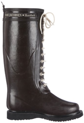 Women's Rain Boot Brown Rub 1 JACOBSEN ILSE 58UqFw