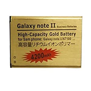 Replacement 3.7V 4200mAh Rechargeable Battery for Samsung Galaxy Note II / N7100