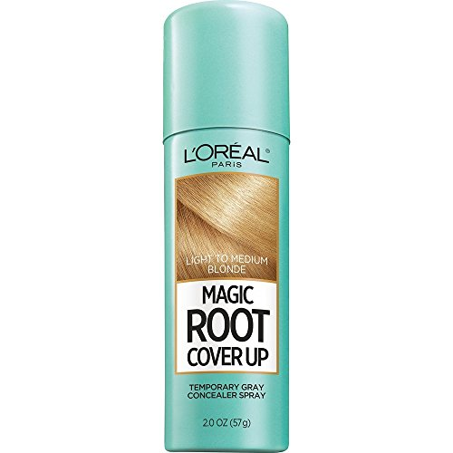 L'Oreal Paris Magic Root Cover Up Gray Concealer Spray Light to Medium Blonde 2 oz.(Packaging May Vary)]()