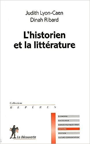 Livre gratuits en ligne L'historien et la littérature epub pdf