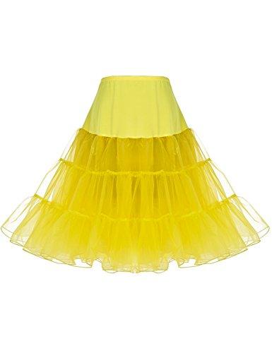 Dressystar Women 50's Vintage Rockabilly Petticoat Net Underskirt 26