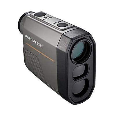 Nikon Prostaff 1000i Laser Rangefinder, 6x20mm, 6-1000 Yards, 1 x CR2 Lithium Battery, 16663 from Nikon