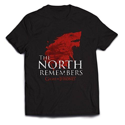 Maglietta Thrones Neroblack The Remembers Of Plastic Head Game North Uomo ZiXuTOPk