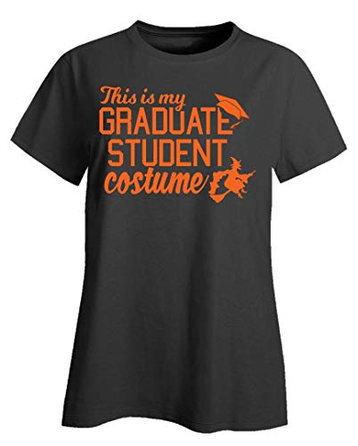 Merch Chimp Funny Grad Student Costume for College Students Funny Halloween Design - Ladies T-Shirt -