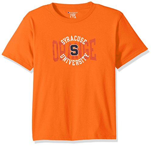 Champion NCAA Syracuse Orange Youth Boys Jersey T-Shirt 1, Large, - T-shirt Syracuse Youth Orange