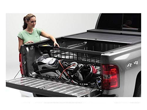 N-lock Cargo Roll (Roll-N-Lock CM220 Cargo Manager Rolling Truck Bed Divider for 2014-2018 Silverado & Sierra 1500   Fits 5.8' Bed)