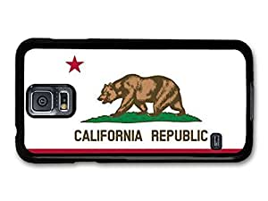 Wholesale diy case Accessories California Republic Flag Illustration case for Samsung Galaxy S5