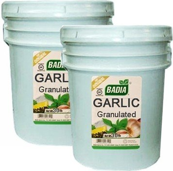 Badia Garlic Granulated 30 lbs Pack of 2