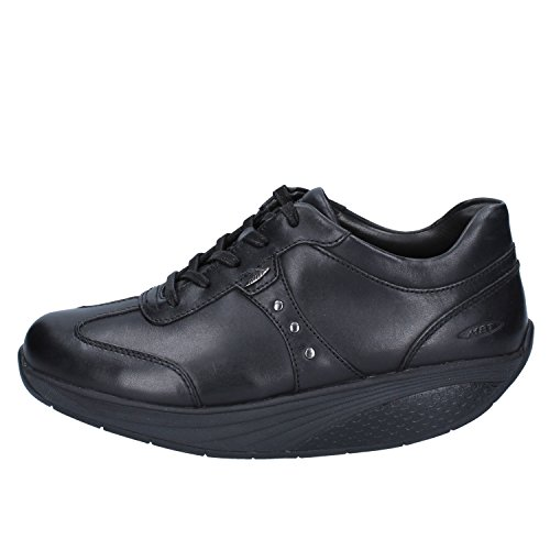 Zapatos Piel Lace Nia Negro Mbt Black Mujer wxR1IFngq