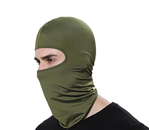 GAMWAY Ski Mask Balaclava Hood Skullies Beanies Outdoor Sports Cycling Hat (Cap Balaclava)
