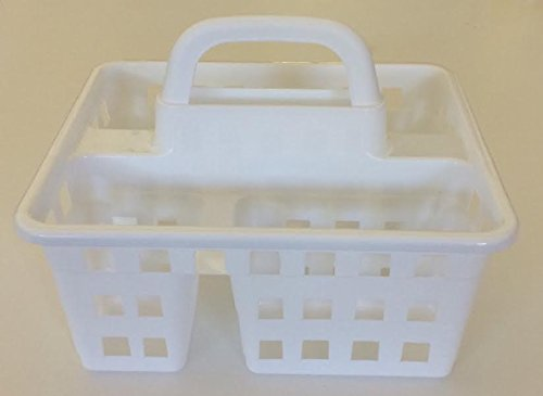 Hunted Treasures-Be Organized College Dorm 3 Compartmentt Shower Caddy- White by Hunted Treasures-Be Organized (Image #2)