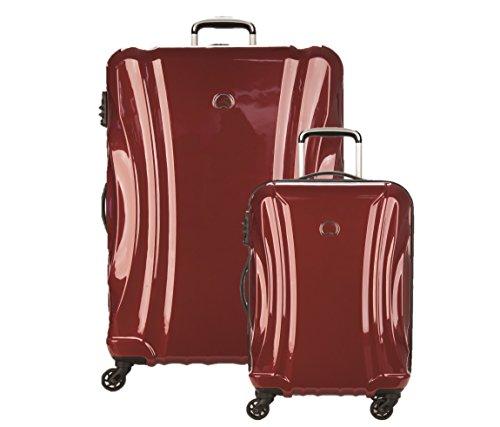 Delsey Luggage Passenger Lite 2 Piece Exp 4 Set (21'/29'), Merlot