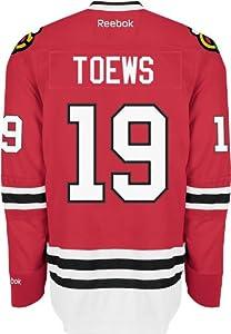 NHL Chicago Blackhawks Jonathan Toews #19 Premier Jersey