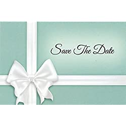 Something Blue Save The Date Postcards - 4in. X 6in. (100)