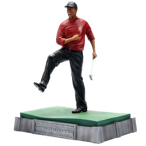 Upper Deck Pro Shots Ultimate Sculpture - Tiger Woods Winning the '97 Masters