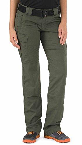 5.11 Tactical Women's EDC Stryke Pants, TDU Green, (Tdu Ripstop Pants)