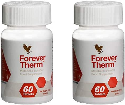 Forever Therm, Forever Living Metabolic Booster, Pack of 2 (120 Tablets)