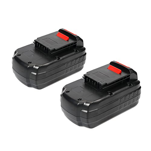 18 Volt Nicad Power Tool (Energup 2 Pack 18V 3.0Ah PC18B Ni-Cad Replacement Battery for Porter Cable 18-Volt Cordless Power Tools PC18B-2 PCC489N PCMVC PCXMVC)
