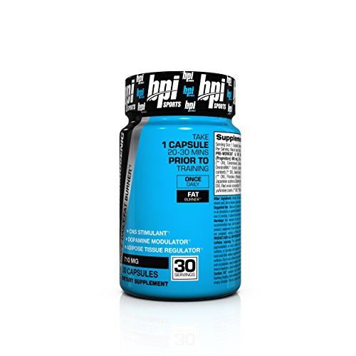 BPI Sports B4 The Once Daily Fat Burner, 30 Count