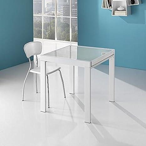 Tavolo quadrato allungabile Spry: Amazon.it: Casa e cucina