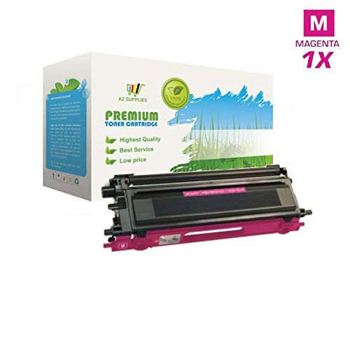 compatible with Brother TN-110M, TN-115M Magenta Premium High Yield  compatible with Brother Compatible Remanufactured High Quality Toner Cartridge For use with  compatible with Brother DCP-9040CN, DCP-9045CDN, DCP-9045CN, HL-4040CDN, ()