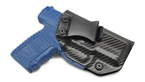 Concealment Express IWB KYDEX Holster: fits Walther PPS - Custom Fit - US Made - Inside Waistband - Adj. Cant/Retention (CF BLK, Right)