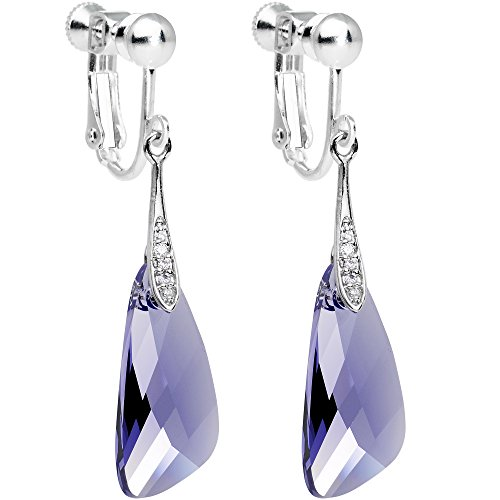 Swarovski Clip On Earrings - 5