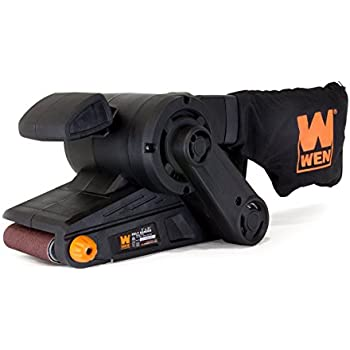 WEN 6321 7-Amp 3 in. x 21 in. Corded Belt Sander with Dust Bag