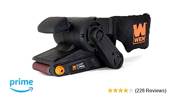 WEN 6321 7-Amp 3 in. x 21 in. Corded Belt Sander with Dust Bag - -  Amazon.com 9530bb753a332