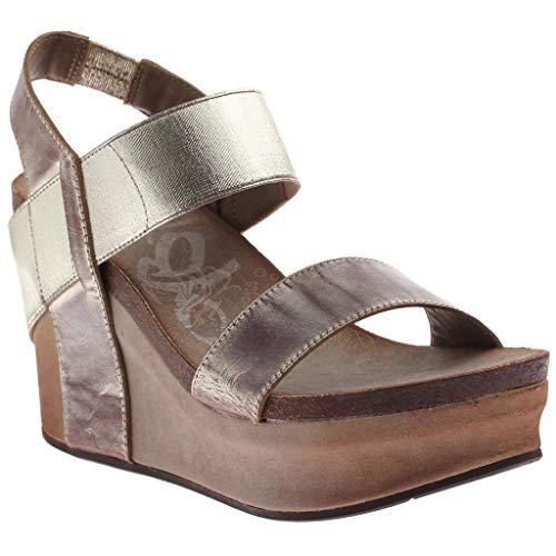 OTBT Women's Bushnell Wedge Sandals - Gold - 10 M US