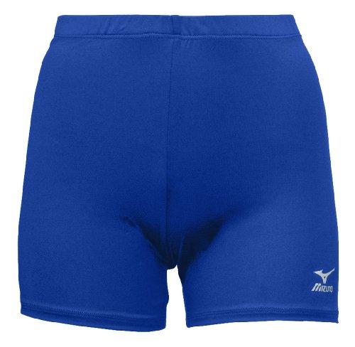 Mizuno Vortex Volleyball Short, Royal, Medium-Women by Mizuno