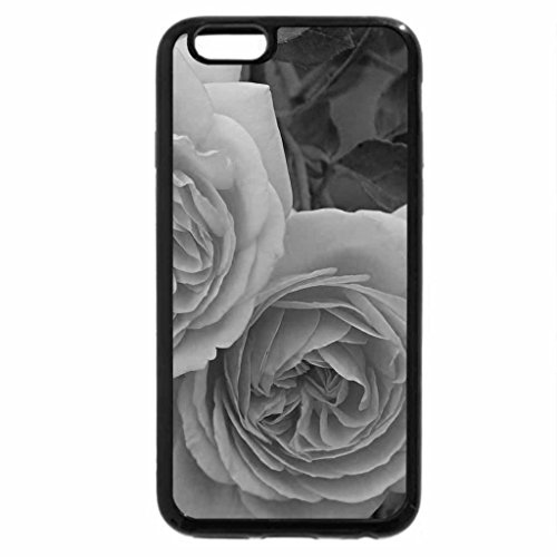 iPhone 6S Plus Case, iPhone 6 Plus Case (Black & White) - beauty of rose
