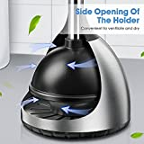 Toilet Plunger with Holder | 304 Stainless Steel