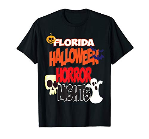 Halloween Horror Nights 2019 Shirts (Florida Halloween Horror Nights T-Shirt Skull)