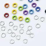 Multi-Color Grommets Kit 400 Sets 3/16