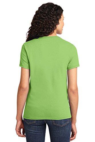 Autoridad Portuaria de puerto de la mujer & Company lpc61esencial camiseta Lime