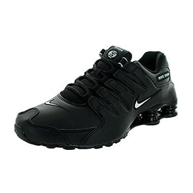 0c3890ca09feea Nike Men s Shox NZ Running Shoe Black White Black - 13 D(M