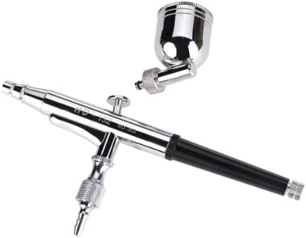 0.3mm 7cc Detachable Cup Dual Act Gravity Feed Airbrush Kit