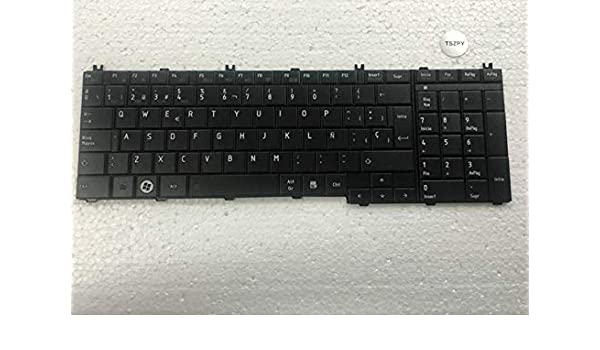 Amazon.com: FidgetFidget Teclado for Toshiba Satellite C660 L660 C660D C650 C650D Spanish Keyboard SP: Electronics