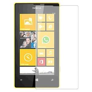 Membrane 3 x Protector de Pantalla compatibles con Nokia Lumia 520 - Ultra Transparente 10
